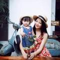 Làng sao - Con gái Trần Thị Quỳnh xinh như búp bê