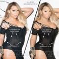 """Làng sao - Eva """"soi"""" 15/7: Thân hình xồ xề của Mariah Carey"""