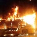 Tin tức - TQ: Nổ xe bus kinh hoàng, 34 người thương vong