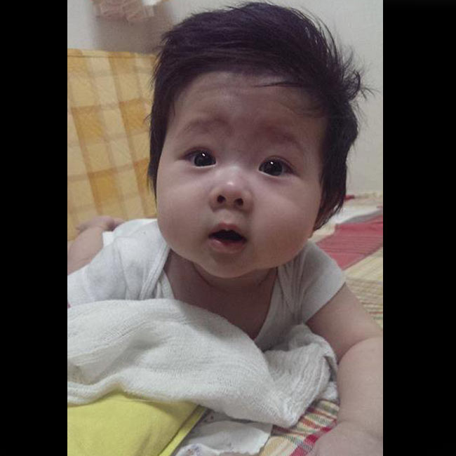 Cuộc hôn nhân hạnh phúc với người chồng thứ 2 của cựu mẫu Dương Yến Ngọc đã có trái ngọt vào ngày25/10/2013. Vốn là người kín tiếng, hầu như những hình ảnh về con trai của Dương Yến Ngọc rất ít khi xuất hiện trên truyền thông.