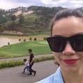 Làng sao - Hà Hồ chụp ảnh dạo chơi cùng Cường Đô la