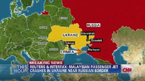 may bay malaysia roi o ukraine, 295 nguoi thiet mang - 2