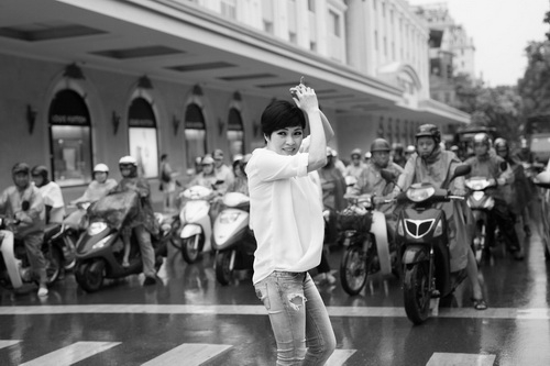 """phuong thanh yeu thich thoi tiet """"dong danh"""" ha noi - 19"""