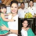 Làng sao - Trần Thị Quỳnh hạnh phúc bên chồng con