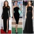 Thời trang - Angelina Jolie- Nữ hoàng váy đen