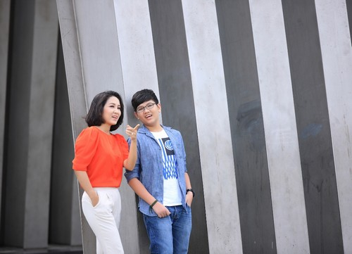 ca si thanh thuy khong muon con theo nghe thuat - 8