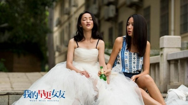 co dau chau tan say xin tren pho - 1