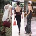 Thời trang - Kỹ nghệ khoe lưng trần trên phố của sao Việt