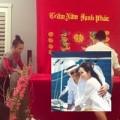Làng sao - Việt Hương tổ chức đám hỏi cho Kim Hiền tại Mỹ