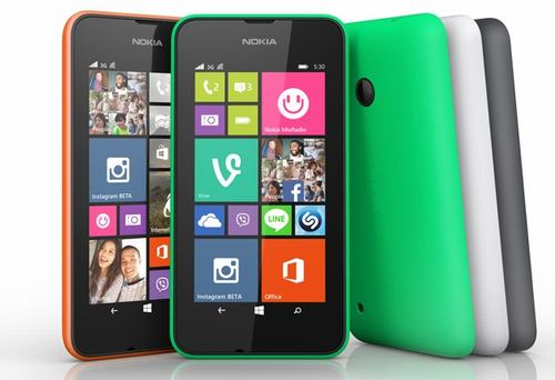 nokia ra mat lumia 530 gia re ke nhiem lumia 520 - 1