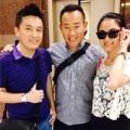 Làng sao - Lam Trường và vợ gặp gỡ Lâm Bảo Di ở Hồng Kông