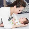 Làm mẹ - Lộ ảnh quý tử 2 tháng tuổi của Đan Lê