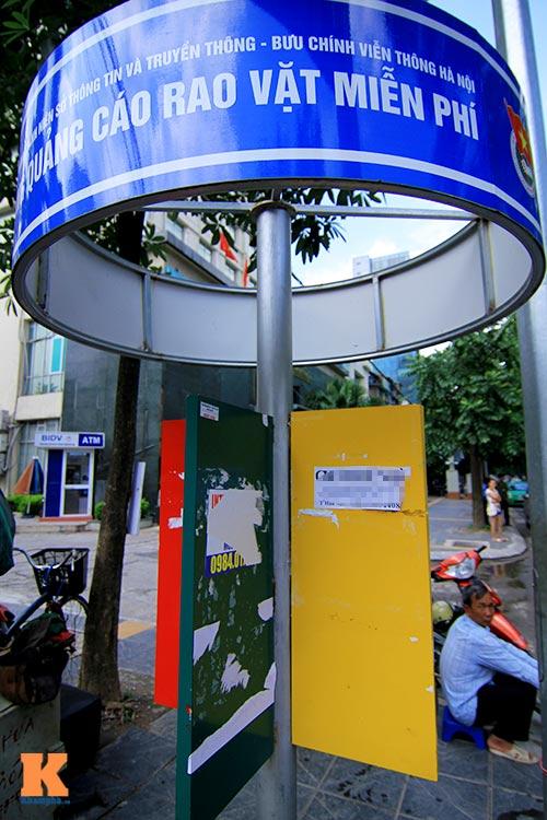'Cây quảng cáo' miễn phí ở Hà Nội-14