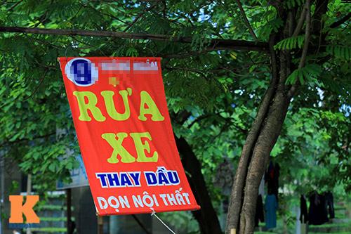 'Cây quảng cáo' miễn phí ở Hà Nội-11