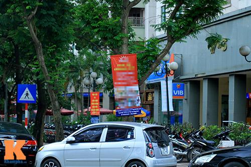 'Cây quảng cáo' miễn phí ở Hà Nội-1