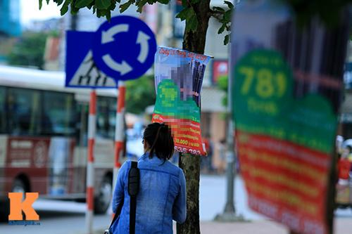 'Cây quảng cáo' miễn phí ở Hà Nội-15