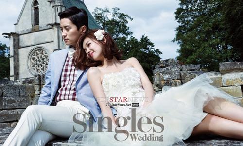 Lộ ảnh cưới của người đẹp phim Gia đình đá quý - 1