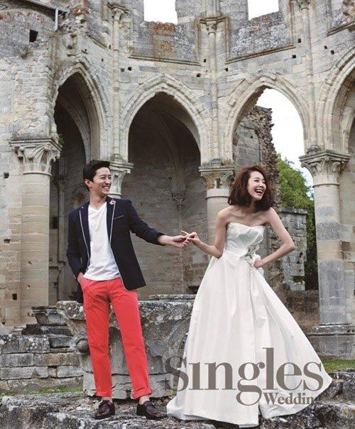 Lộ ảnh cưới của người đẹp phim Gia đình đá quý - 2