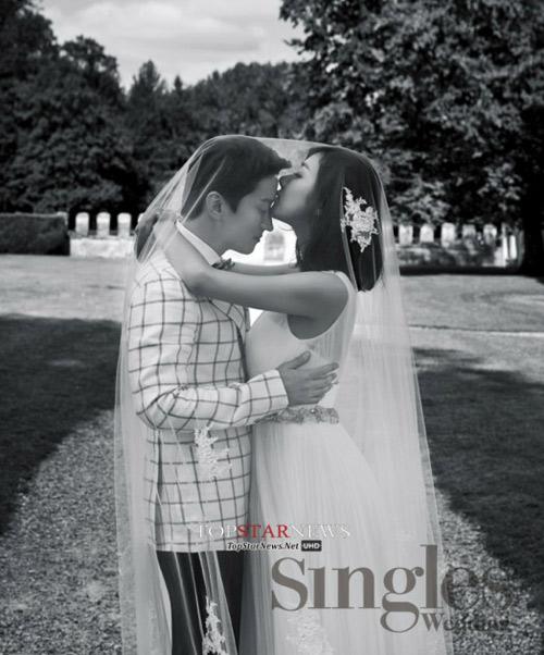 Lộ ảnh cưới của người đẹp phim Gia đình đá quý - 3