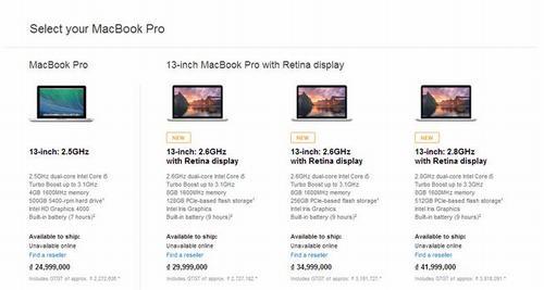 apple nang cap cau hinh macbook pro retina - 1