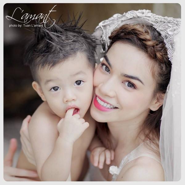Sao Việt sinh con cho bạn trai không cần cưới-1