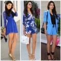 """Thời trang - Blogger thời trang làm """"ảo thuật"""" với màu xanh"""