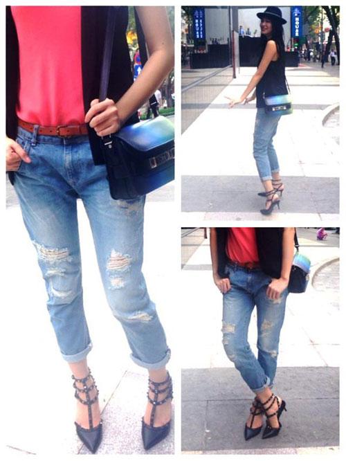 "3 mot quan jeans lam ""say long"" sao viet - 6"
