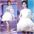 Thời trang - Mẫu chuyển giới diện váy cưới kiêu sa trên sàn catwalk
