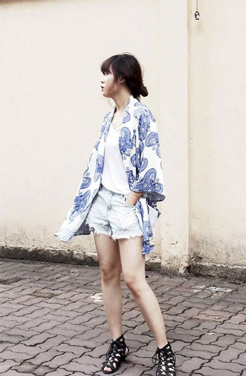 """phai dep viet """"len con sot"""" vi ao kimono - 6"""