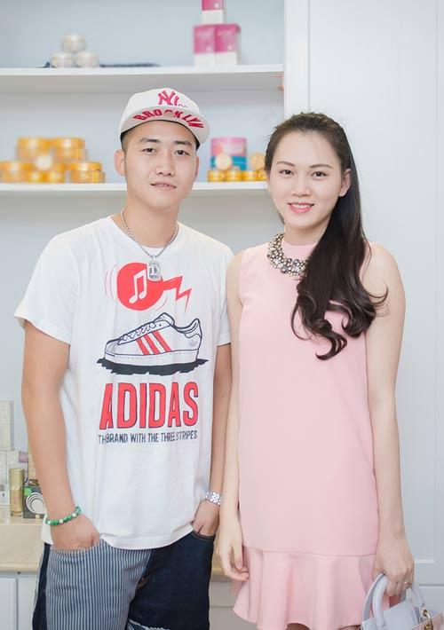 ngoc thach dang mang thai con dau long - 1