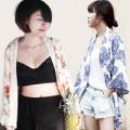 """Thời trang - Phái đẹp Việt """"lên cơn sốt"""" vì áo kimono"""