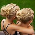 Làm đẹp - Cặp song sinh và 10 kiểu tóc nhìn là 'ngất' vì yêu