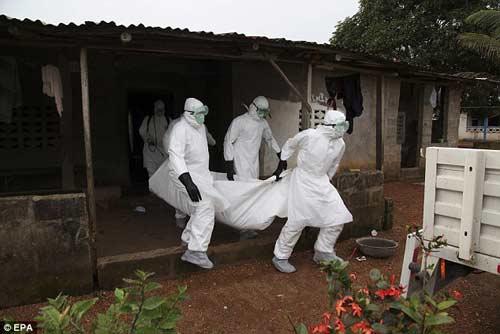 nhung hinh anh dau thuong tu vung tam dich ebola - 3