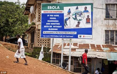 nhung hinh anh dau thuong tu vung tam dich ebola - 13