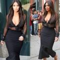 "Làng sao - Eva ""soi"" 12/8: Kim Kardashian trễ nải vòng 1"