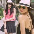 Thời trang - Mũ phớt tôn vẻ sành điệu cho sao Việt
