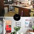 """Nhà đẹp - """"Lột"""" áo cũ để phòng bếp hết xấu xí"""