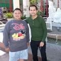 Làng sao - Đức Tiến làm hướng dẫn viên du lịch cho Minh Béo ở Mỹ