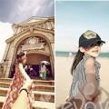 Ảnh đẹp của bé - 'Mê tít' bộ ảnh Follow me của bố đơn thân Việt và con gái