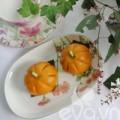 Bếp Eva - Bánh bí đỏ nhân đậu đỏ trứng muối