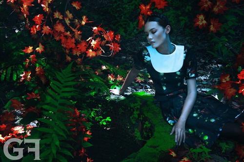 "ntk viet ""cham"" san dien london fashion week - 5"