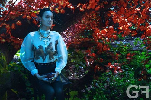 "ntk viet ""cham"" san dien london fashion week - 6"