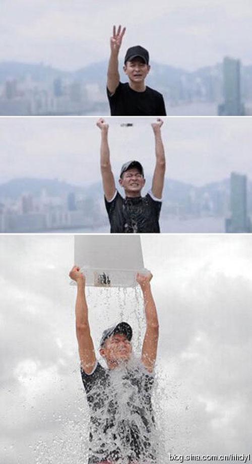 Sao Hoa ngữ thi nhau dội nước đá - 1