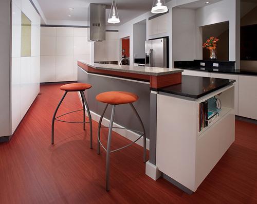 Chọn vật liệu 'giá mềm' cho sàn phòng bếp-2