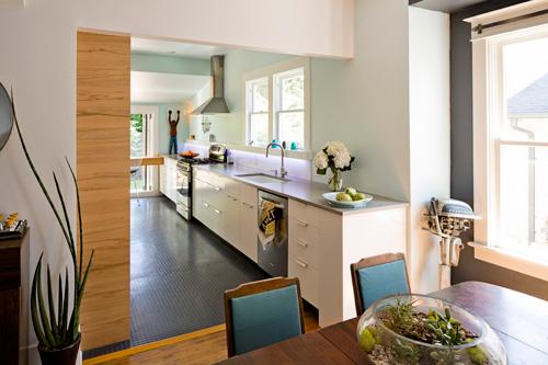 Chọn vật liệu 'giá mềm' cho sàn phòng bếp-3