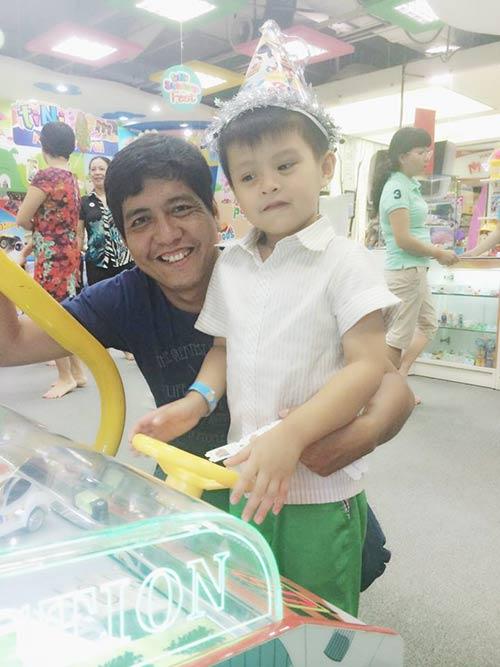 Con trai Thanh Thúy hạnh phúc đón tuổi thứ 5-10