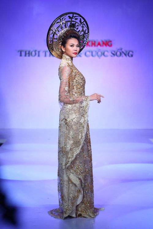 """Thanh Hằng: """"Áo dài khiến phụ nữ Việt đẹp nhất!""""-2"""