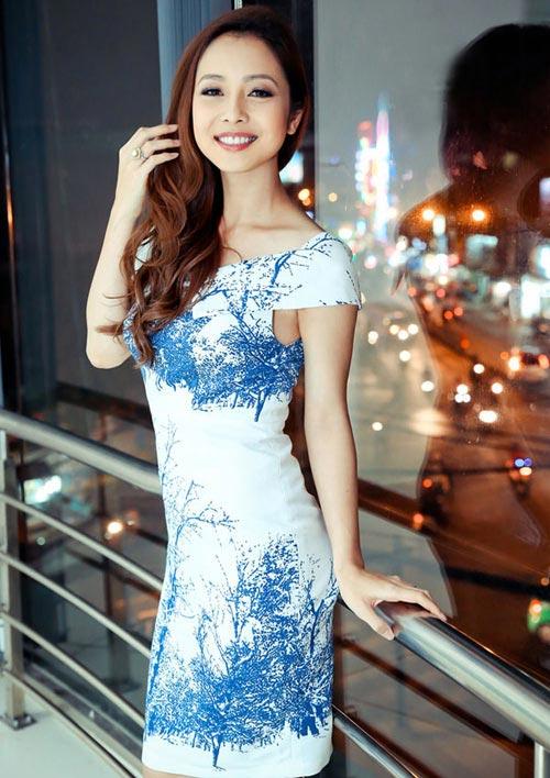 Những bộ váy ngắm mãi không chán của Jennifer Phạm - 10