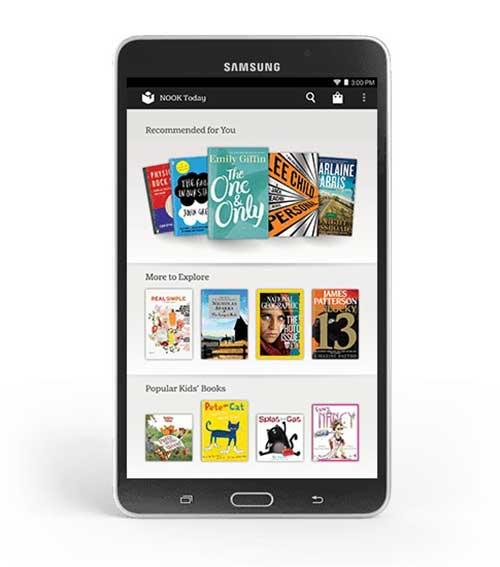 Samsung ra mắt Galaxy Tab 4 Nook giá rẻ-5