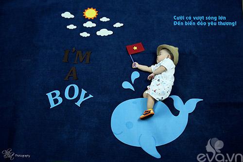 """Đẹp ngỡ ngàng bộ ảnh """"Bay vào giấc mơ con yêu"""" của mẹ Việt-4"""